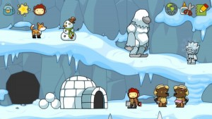 The scribblenauts series teach through exploration with massive amounts of personal freedom.